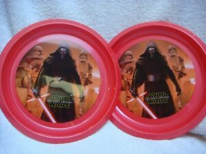 Star Wars plastic plate 2 pack