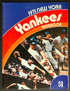 1971 New York Yankees MLB Baseball Season Yearbook Vintage Sports Program
