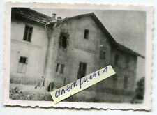 Foto : der beschossene Bahnhof Medyka bei Przemyśl in Polen 1941