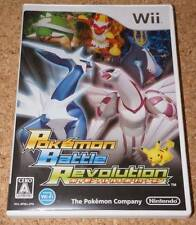 Used Pokemon Battle Revolution [Japan Import] Nintendo Wii Japanese Version Game