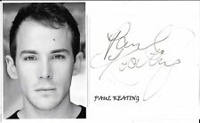 PAUL KEATING - ACTOR - METROSEXUALITY - STRIP -  AUTOGRAPH & PHOTOGRAPH - COA
