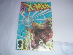 THE UNCANNY X MEN. # 221.MARVEL COMICS.SEPT 1987.1st Appearance Mr Sinister.