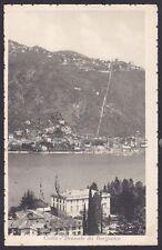 COMO BRUNATE 63 BORGOVICO Cartolina viaggiata 1917