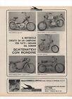 Pubblicità 1970 MOTO CICLO RONDINE MOTOR CROSS old advertising werbung publicitè