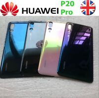 OEM Huawei P20 Pro Rear Glass Back Battery Cover Replacement part With Adhesive