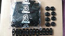 Lego Technic Caterpillar Track Link Tank Tread x 100 Black 57518 + 8 Sprockets