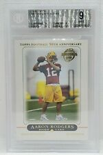 2005 Topps Football - Rookie #431 - AARON RODGERS - BGS 9 MINT - Packers
