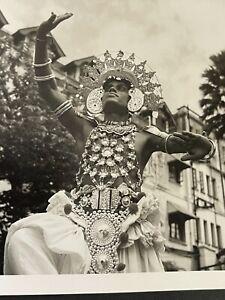 Rare Vintage Photo Album Travel Photos 1955 Medeira Bali India Egypt