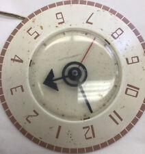 VTG. RETRO SPACE AGE MID CENTURY MODERN WESTCLOX  KITCHEN WALL CLOCK 1960's