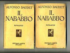 Alfonso Daudet # IL NABABBO # Bietti 1938 # 2 VOLUMI