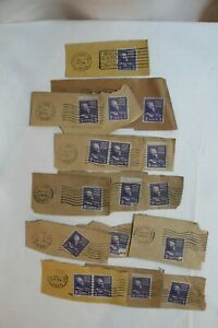 US Thomas Jefferson 3 Cent Postage Lot of 17 Stamps!  2 unused 15 canceled