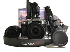 PANASONIC LUMIX G7 CAMERA GOOD CONDITION WITH 2 LENSES. Box Included