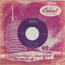 """45 TOURS / 7"""" JAZZ--NAT KING COLE--COME CLOSER TO ME / NOTHING IN THE WORLD"""