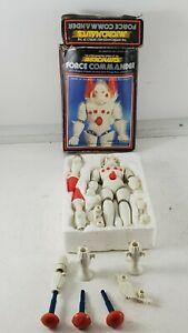 Vintage 1977 Mego Micronauts Force Commander Box Action Figure accessories darts