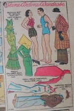 Jane Arden Sunday with Large Uncut Paper Doll from 11/24/1935 Full Size Page!