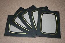 10 SPICER HALLFIELD 3.5x2.5 PHOTO STRUT MOUNTS IN BLACK