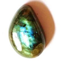 28.5ct/5.7g Labradorite Polished Bead Cabochon Gemstone for Pendant