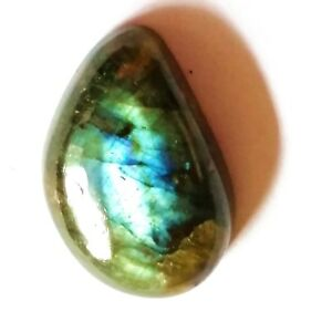 28.5ct/5.7g Labradorite Polished Bead Cabochon Gemstone for Pendant