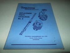 1958 Triumph Tiger Cub T20 T20C Replacement Parts Catalogue No. 5