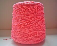 Silk City Fibers AVANTI Yarn 2 LBS Cone Rayon Cotton Nubs & Slubs GREAT COLOR!