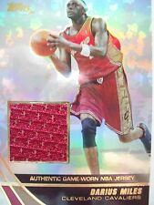 2004 TOPPS BASKETBALL GAME JERSEY DARIUS MILES  CAVS  JE-DMI  BX54