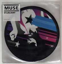 "MUSE - STARLIGHT  - 7"" VINYL 45 giri PICTURE DISC - RARO!!! -  MAI USATO!!!!"