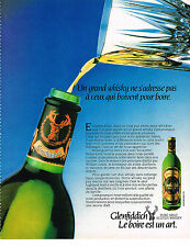 PUBLICITE ADVERTISING   1982   GLENFIDDICH  whisky 1