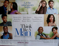 Cinema Poster: THINK LIKE A MAN 2012 (Quad) Chris Brown Gabrielle Union