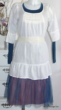 Noa NOA NEW robe au Basic L 40 voile solid white blanc coton Cotton NEUF