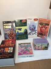 7 ANNE MCCAFFREY CASSETTES TAPES AUDIO BOOKS, Pern Collection, Ship Who Won + 5