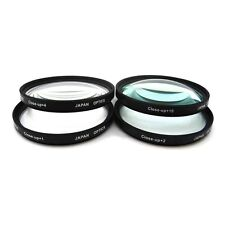 52mm Close-Up Filter Set +1, +2, +4 and +10 Diopters f/ Canon Nikon Olympus Lens