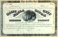18__ St Paul & Sioux City RR Stock Certificate