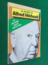 LA RIVISTA DI ALFRED HITCHCOCK n.8 , Ed. Rizzoli (1978) Libro storie del brivido