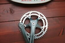 1991 Campagnolo C RECORD Century finish crankset 42/52 graphite guarnitura mm170