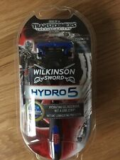 New Mens Wilkinson Sword Hydro 5 Transformers shaving blade Razor