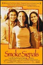 SMOKE SIGNALS Movie POSTER 27x40 B Adam Beach Evan Adams Irene Bedard Gary