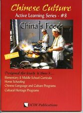 Chinese Culture Active Learning Series #8 China's Foods PB CD Color Illustration