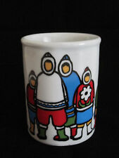 Marc Tetro Eskimo Inuit Family Coffee Mug Danesco Canada