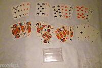 altes Kartenspiel Skat 32 Karten, mit Werbung Wilhelm Krahn, Bremen