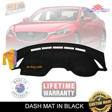 DASH MAT MAZDA 6 GJ SERIES 2 Sport + Touring 2/2015-Feb/2018 DM1383 in BLACK