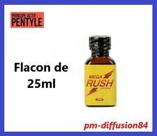 POPPERS - MEGA RUSH - Pour une ambiance relaxante et stimulante - Flacon de 25ml