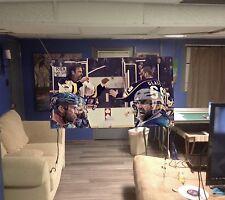 Huge! 46x26apx GOON vinyl banner POSTER art hockey movie. film SLAPSHOT gretzky