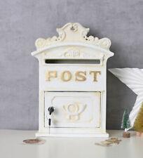 nostalgischer Briefkasten Jugendstil Shabby Chic Wandbriefkasten