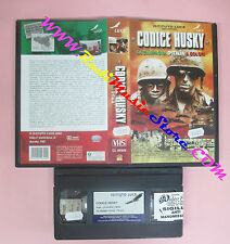 VHS film CODICE HUSKY LA CAMPAGNA D'ITALIA A COLORI ISTITUTO LUCE (F82)no dvd