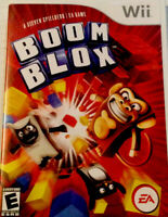 Nintendo Wii Boom Blox Video Game Tested Works Complete With Booklet Good