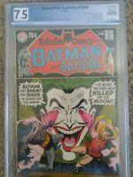 Detective Comics 388 PGX 7.5 Very Fine- Awesome Joker Cover!