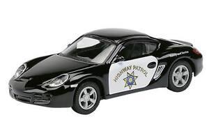 "Porsche Cayman S ""Highway Patrol"" - 1:87 / H0 Gauge - Schuco (25390)"