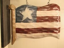 """Colonial Flag"" Replacement Sign - Resin Sign for Country Arrow Holders"