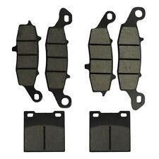 Brake Pads Kit F&R For Suzuki GSXF GSX750F GSX600F GSF600S SV650 Katana 600 750