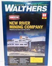 HO Scale Walthers Cornerstone 933-3017 New River Mining Company Building Kit